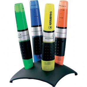 Set da scrivania evidenziatori Luminator Stabilo assortiti 2-5 mm 7104-2 (conf.4)