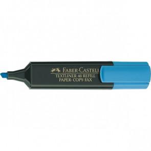 Evidenziatore Textliner 48 Refill Faber Castell azzurro 1-5 mm 154851