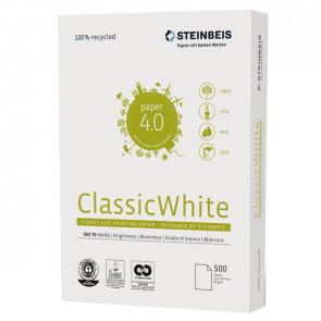 CARTA STEINBEIS CLASSIC WHITE A3 80gr 500fg 100 riciclata