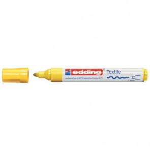 Marcatore per tessuti 4500 Edding giallo tonda 2-3 mm 4500 005