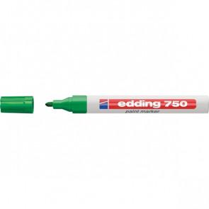 Marcatore a vernice Edding verde tonda 2-4 mm 750 004