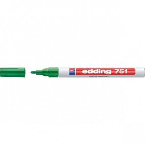 Marcatore permanente a vernice Edding verde tonda 1-2 mm 751 004