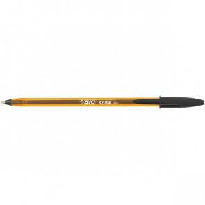 Penna a sfera Cristal® Bic Fine nero 0,8 mm 872731 (conf.50)