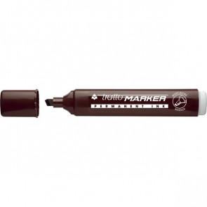 Marcatore Tratto Marker a scalpello marrone 1- 5 mm 840206 (conf.10)