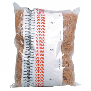 Elastici in gomma naturale Viva 120 mm EN120 (conf.1000)