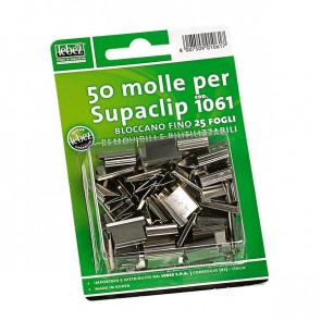 Ricariche per Dispenser Sparamolle e molle Supaclip Lebez acciaio 1061 (conf.50)