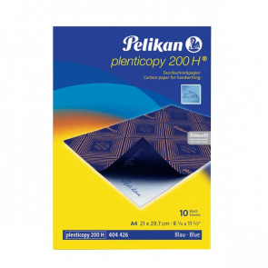 Carta da ricalco Plenticopy 200 Pelikan blu 0C31GA (conf.10)