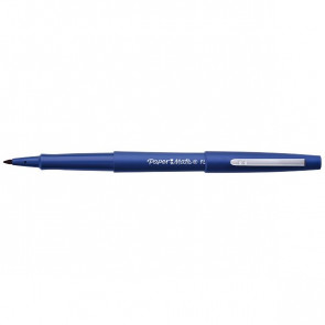 Penna con punta sintetica Flair Nylon Papermate nero 1 mm S0190972/3 (conf.12)