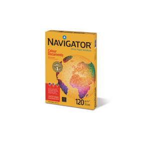 Carta colour documents Navigator A3 120 g/mq 128 µm 1342PN (conf.4)