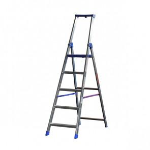 MARCHETTI SCALA ALLUMINIO Professionale 6 GRADINI Climb Evolution