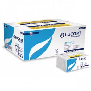 Asciugamani a Z Lucart 2 veli 23x23,5 cm pura cellulosa 864013 (conf.220)