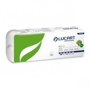Carta igienica Lucart Carta ecologica 2 veli 200 strappi 811438u (conf.10)