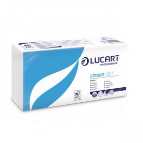 Tovaglioli bianchi in carta Lucart 33x33 cm 1 velo 831001 (conf.200)
