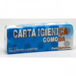 Carta igienica Lucart Pura cellulosa 2 veli 155 strappi 811553 (conf.10)