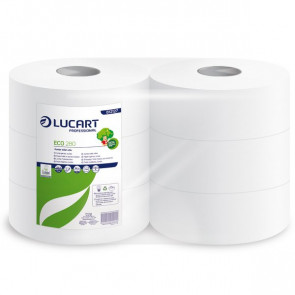 Carta igienica ecologica Maxi jumbo Lucart 2 veli 360 m 812173 (conf.6)