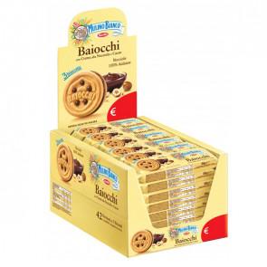 BARILLA Baiocchi - Mulino Bianco - monoporzione con 3 biscotti da 28 gr