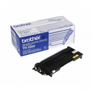 Originale Brother TN-2000 Toner alta resa SERIE 2000 nero
