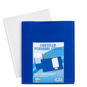 TURIKAN Cartella in pp personal cover bianco 240x320mm Iternet