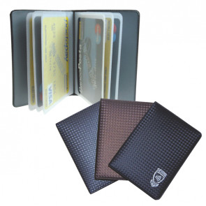 Display 24 Pluricard con scudo carbon Alplast