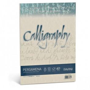 Calligraphy Pergamena Liscio Favini sabbia fogli A4 90 g A69U204 (conf.50)