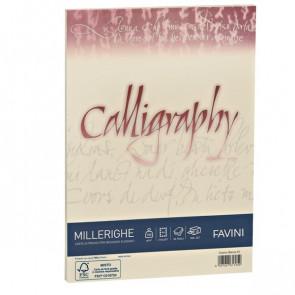 Calligraphy Millerighe Rigato Favini avorio fogli A4 200 g A69Q324 (conf.50)