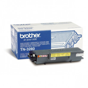 Originale Brother TN-3280 Toner alta resa SERIE 3200 nero