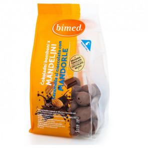 Mandorle al cioccolato 200gr - Bimed