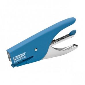 Cucitrice a pinza Supreme S51 Soft Grip Rapid blu 10538742