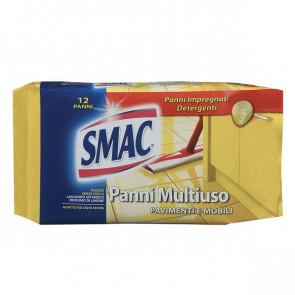 Panni per pavimenti e multiuso Smac 12 panni M77351 (conf.12)
