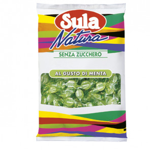 Caramelle Sula - gusto menta - Sula - busta 1 kg