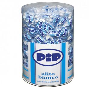 Caramelle confettate Pip - alito bianco - barattolo 800 pezzi