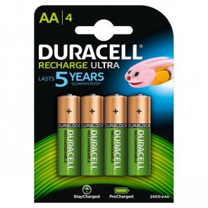 Pila ricaricabile stay charged Duracell stilo AA 1,2 V 94057050 (conf.4)