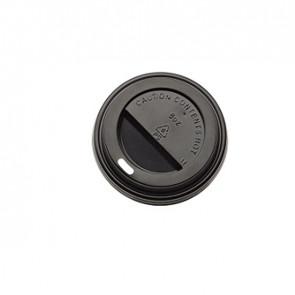 Tappo in polistirene per bicchiere da 240 ml - nero - Leone - conf. 1000 pezzi