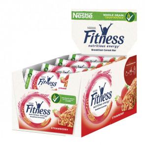 Barretta fitness fragola - monoporzione da 23,5 gr - NestlE'