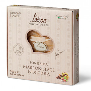 Torta Bonissima marronglacE' nocciola 300gr - Loison