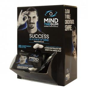 Chewing gum integratore alimentare Mind the Gum - box da 50 bustine da 3 gomme cad.