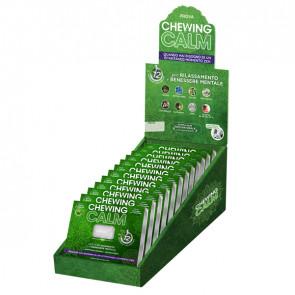 Chewing gum integratore per rilassamento - Chewing Calm - showbox 12 blister (9 gomme cad.)