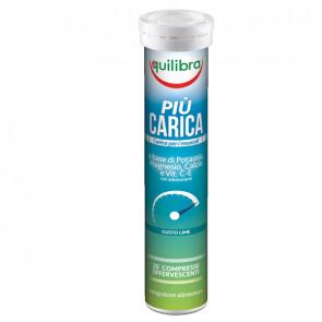 Integratore PiU' Carica - gusto lime - 20 compresse (90 gr cad.) - Equilibra