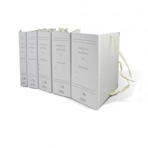 Faldoni con legacci Euro-Cart per Gazz.Uff. dorso 8 cm f.to 21,5x31,5 cm