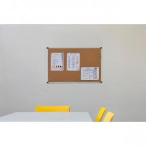 Pannello in sughero Maya Bi-Office 120x90 cm CA051170