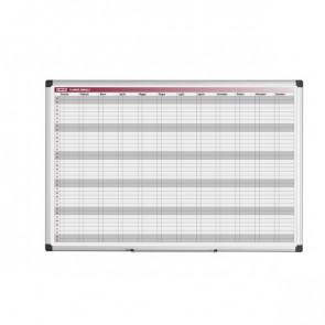 Lavagne planning Bi-Office annuale 90x60 cm GA03268170