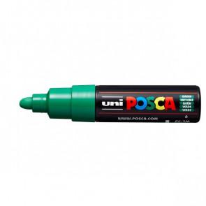 Marcatore Uni Posca a tempera Uni-Ball tonda 4,5-5,5 mm verde M PC7M V (conf.6)