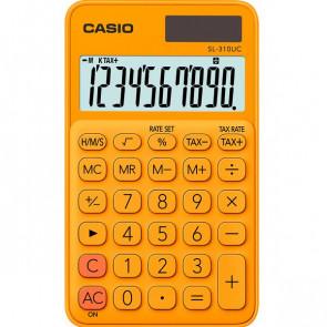 Calcolatrice tascabile SL-310UC a 10 cifre Casio arancione SL-310UC-RG