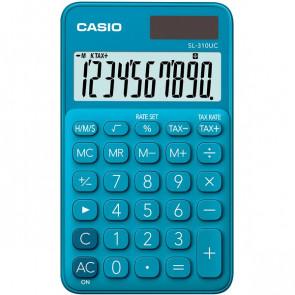 Calcolatrice tascabile SL-310UC a 10 cifre Casio blu SL-310UC-BU