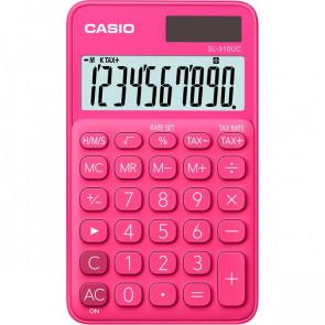 Calcolatrice tascabile SL-310UC a 10 cifre Casio rosso SL-310UC RD
