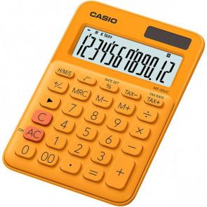 Calcolatrice da tavolo MS-20UC a 12 cifre Casio arancione MS-20UC-RG