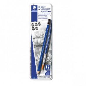 Astuccio matite in grafite Staedtler 4B-6B-8B 100A G6 (conf.5)