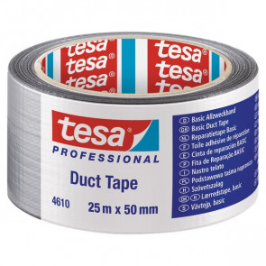 Nastro americano Tesa standard 25mx50 mm grigio 04610-00001-00