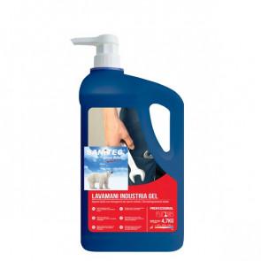 Sapone liquido mani  con Microgranuli 4,7 Kg Sanitec 1045