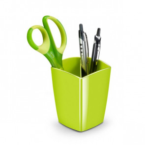 Portapenne CepPro Gloss 7,4x7,4x9,5 cm verde anice 1005300301